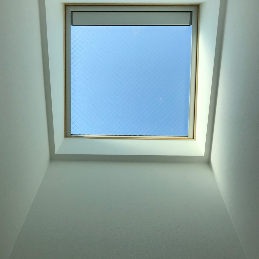 刈谷原崎町分譲の天窓